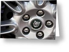 Xjs Wheel Greeting Card