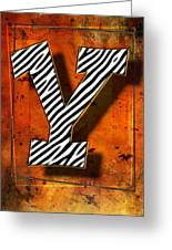 Y Greeting Card