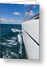 Yacht Lines Greeting Card