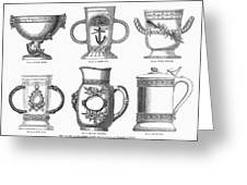 Yachting Trophy, 1880 Greeting Card
