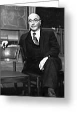 Yakov Zeldovich, Soviet Physicist Greeting Card by Ria Novosti