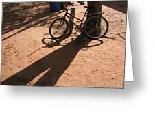 Yalva Sanga Bicycle Greeting Card