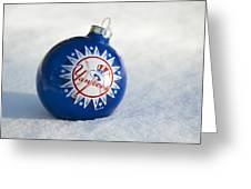 Yankees Ornament Greeting Card