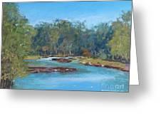 Yarra River Warrandyte Greeting Card