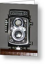 Yashica-d  9307-i Greeting Card