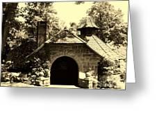 Ye Ole Cottage Greeting Card