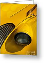 Yellow - D001178 Greeting Card