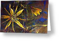 Yellow Passion Greeting Card