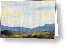 Yellow Ridge Greeting Card
