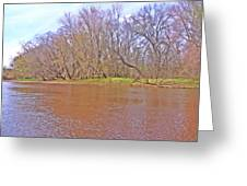 Yellow River 11 Greeting Card