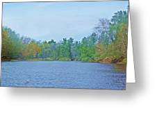 Yellow River  13 Greeting Card