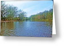 Yellow River 17 Greeting Card