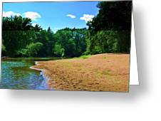 Yellow River Sanctuary 5 Greeting Card