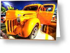 Yellow Truck 2 Greeting Card