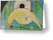 Yellowbird Whitehouse Greeting Card