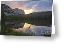 Yellowjacket Lake Greeting Card