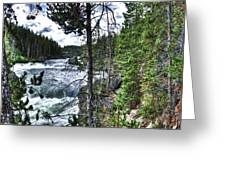 Yellowstone River II Greeting Card