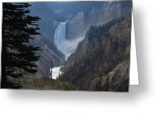Yellowstone Splendour Greeting Card