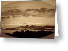 Yesteryears Sunset Greeting Card