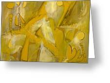 Yo Yo Gold Greeting Card