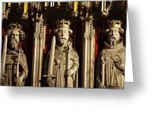 York Minster's Choir Screen Greeting Card