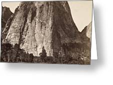 Yosemite: Cathedral Rock Greeting Card