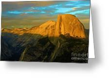Yosemite Golden Dome Greeting Card