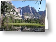 Yosemite National Park Usa Greeting Card