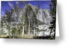 Yosemite Reflection Greeting Card
