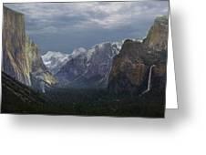 Yosemite Valley 2 Greeting Card