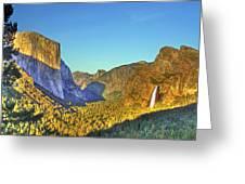 Yosemite Valley 4 Greeting Card