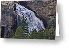 Yosemite Waterfall Greeting Card
