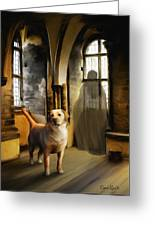 You Are Always Safe With Me Greeting Card by Suni Roveto