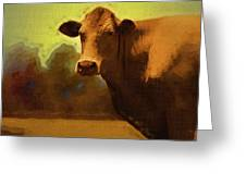 You Can Not Cow Me Greeting Card