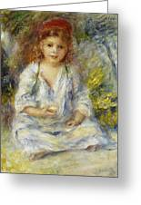 Young Algerian Girl Greeting Card