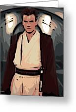 Young Obi Wan Kenobi Greeting Card