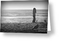 Young Professional Photographer Greeting Card