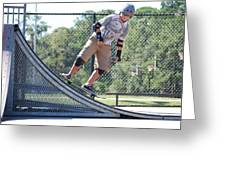 Young Skateboarder Greeting Card