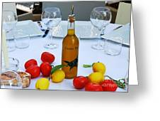 Your Table Is Ready 2 Greeting Card