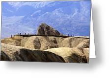 Zabriske Point Greeting Card