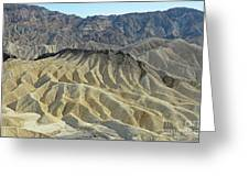 Zabriskie Point Greeting Card