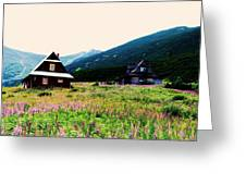 Zakopane I Greeting Card