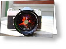 Zenit Photo Camera Greeting Card