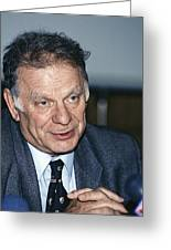 Zhores Alferov, Russian Physicist Greeting Card