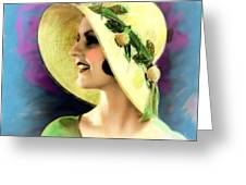 Ziegfeld Girl 031 Greeting Card