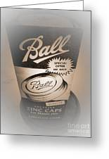 Zinc By Ball Greeting Card