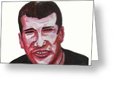 Zinedine Zidane 02 Greeting Card