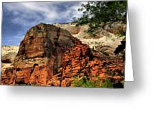 Zion As Water Color Greeting Card