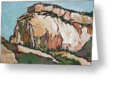 Zion National Park Greeting Card by Sandy Tracey