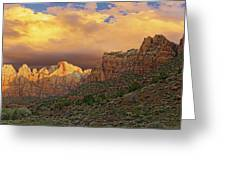 Zion National Park Sunrise II Greeting Card